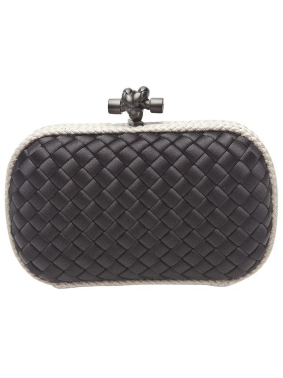 Mini Knot Clutch by BOTTEGA VENETA