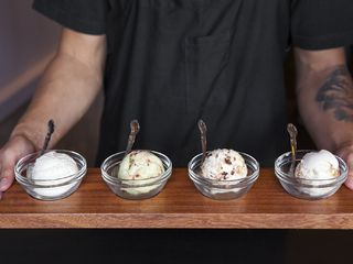 10 tastings in Los Angeles other than beer and wine  Flight of ice cream at Salt & Straw