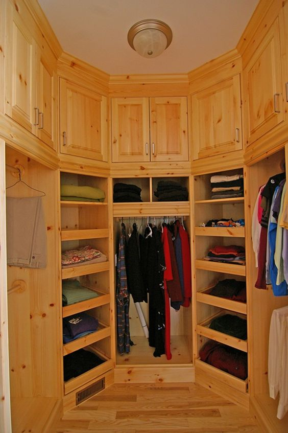 Walk in closet solution for a small space to look stylish closets pinterest walks - Small closet space solutions minimalist ...