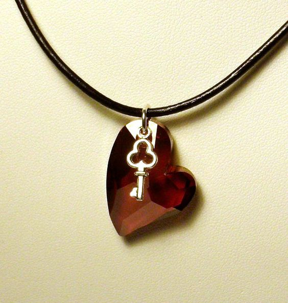 Devoted 2 U Key to My Heart Necklace #valentinegiftideas
