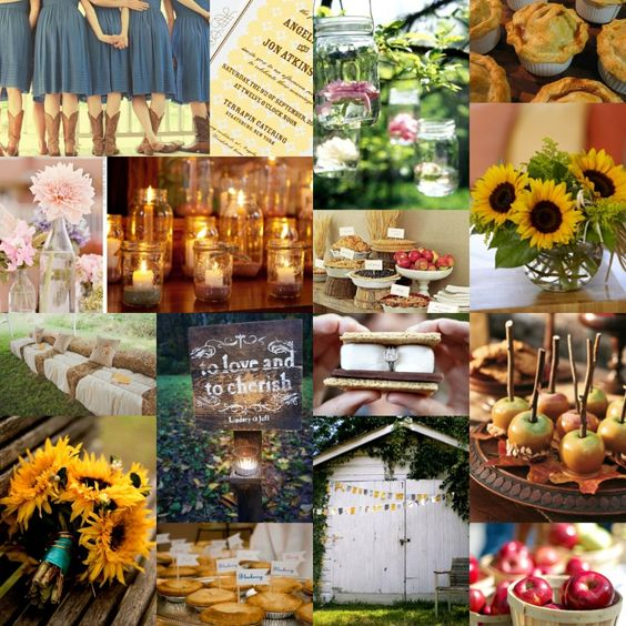 Southern Wedding Decoration Ideas: Wedding Fanatic- Southern Charm: I Love The Homemade Pies