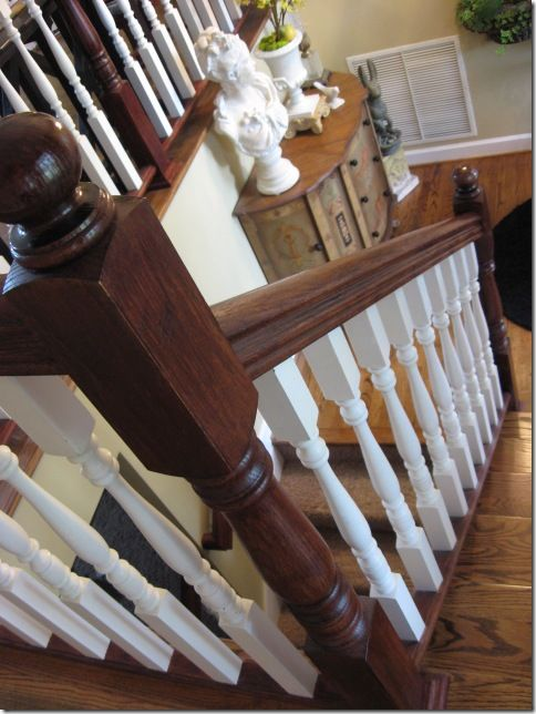 Best Staining An Oak Banister Stains Hands And Need To 400 x 300