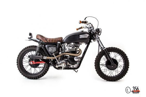 1965 Triumph Motorcycles Bonneville T120 - Desert Sled   Classic Driver Market