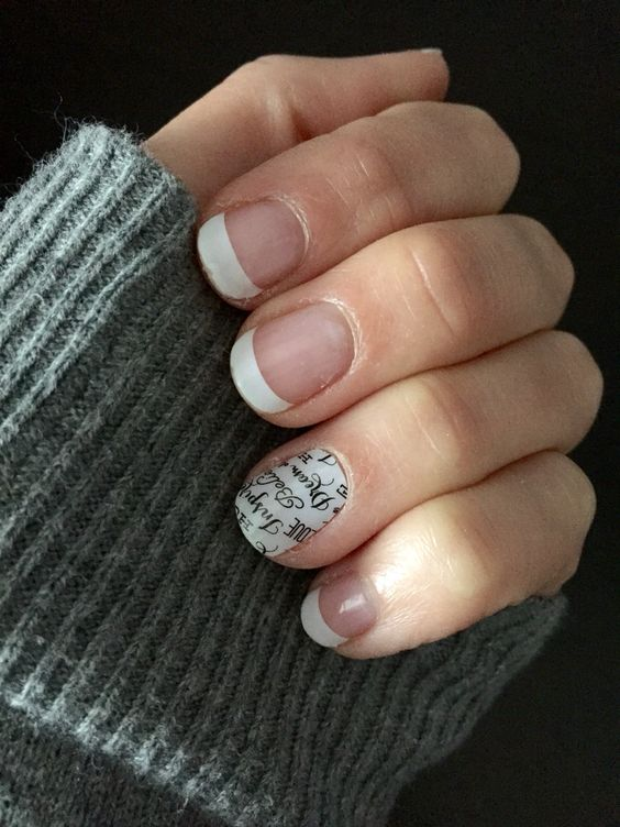 French Tip, Word to the Wise Jamberry