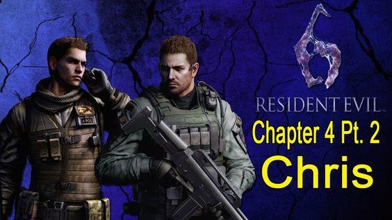 Resident Evil 6 Walkthrough (Chris Chapter 4 Pt. 2/4)