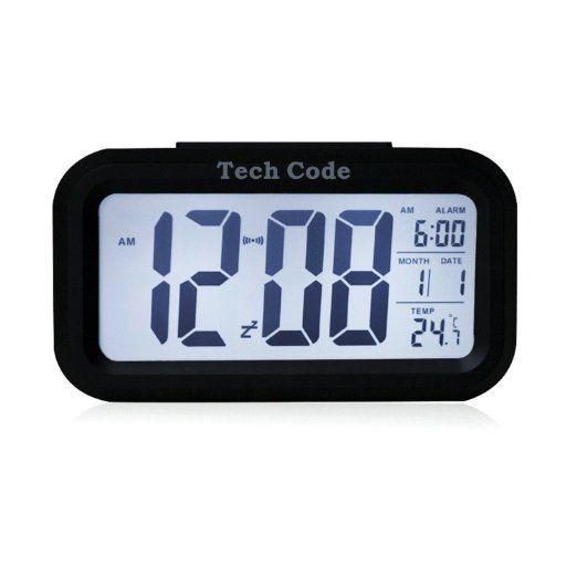5.3 Simple d'utilisation Silencieux avec LED Alarme Horloge avec affichage de la…