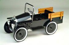 1939 BLACK PICK-UP TRUCK Pedal Car  FREE SHIPPING !  NO SALES TAX!