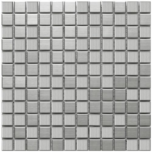 Alloy Mini Square 11 7 8 X11 7 8 Stainless Steel Porcelain Metal Mosaic Porcelain Mosaic Tile Porcelain Mosaic Mosaic Wall Tiles