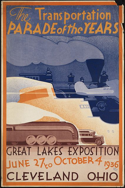 Trains, Planes & Automobiles  #vintage #travel #poster #USA