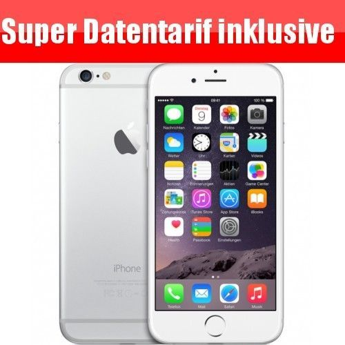 iphone 6 16GB oder 64 GB, 2x Internetflat  2x 7,5 GB,Datentarif,LTE,Vodafone,