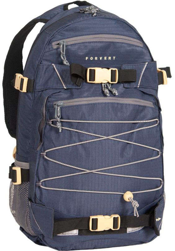 Forvert Ripstop-Louis, Backpack, navy #Backpack #AccessoriesMale #titus #titusskateshop