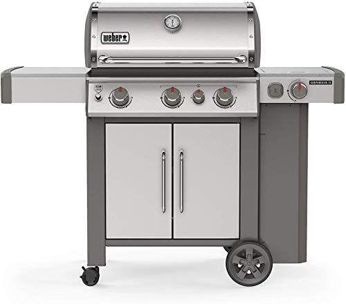 Buy Weber 61006001 Genesis Ii S 335 3 Burner Liquid Propane Grill Stainless Steel Online Newtrendylook In 2020 Best Gas Grills Gas Grill Propane Grill