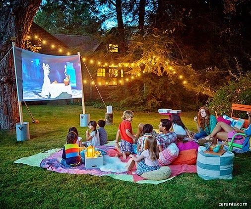 Backyard Movie Marathon: