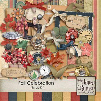 Fall Celebration Scrap Kit