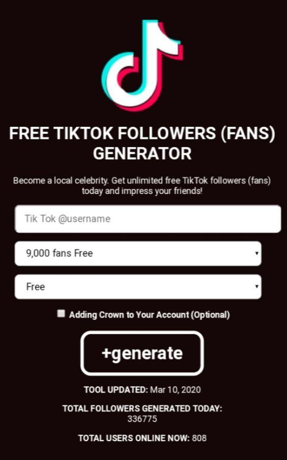 Tiktok Like Free Tiktok Like Club Generator No Human Verification How To Get Followers Free Followers Free Followers On Instagram