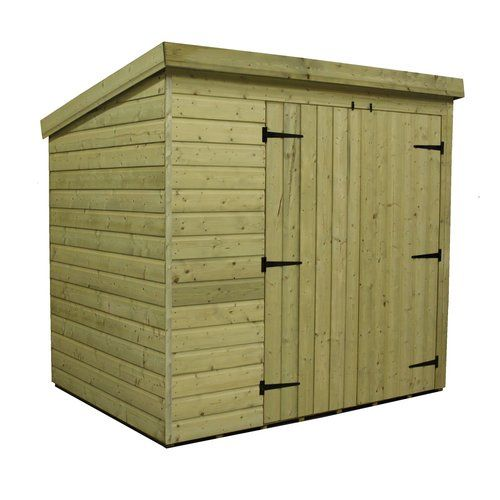 Sol 72 Outdoor Kellum 7 Ft W X 5 Ft D Solid Wood Garden Shed Wooden Sheds Shed Shiplap Cladding