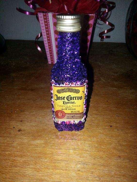 Bling liquor bottle