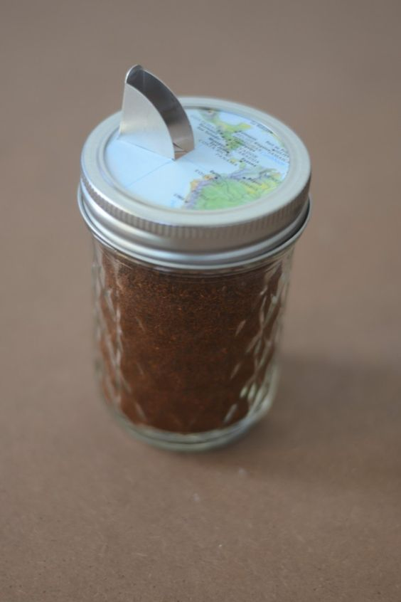 nifty and great idea~ doing with the salt container we now have :)