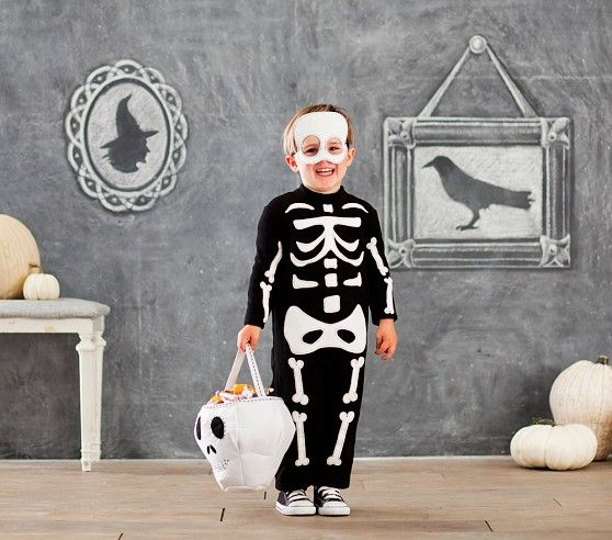 $59 Baby Glow-in-the-Dark Skeleton Costume | Pottery Barn Kids