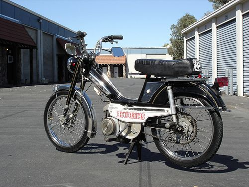 Motobecane-Moped: My ride from the late 70s.