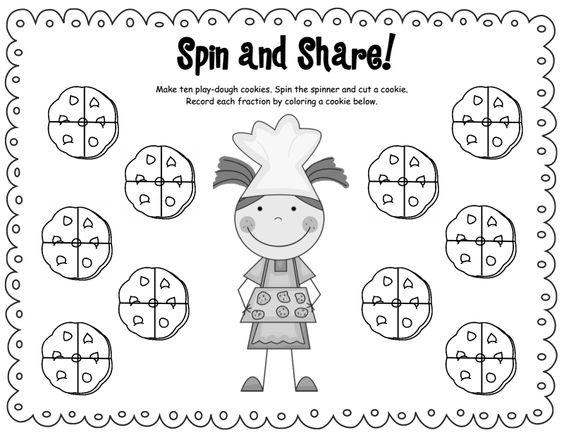 math worksheet : cookie fraction games pdf  fractions  pinterest  fractions and d : Fraction Games Worksheets