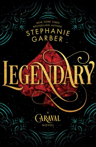 Cover Reveal: Legendary by Stephanie Garber - On sale May 29, 2018! #CoverReveal