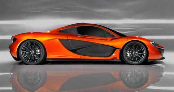mclaren p1 concept car
