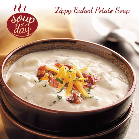 ... soup potato soup recipes baked potatoes dried basil shredded cheddar