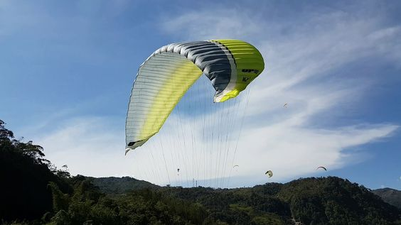 Paragliding over giant waterfalls - Image 7