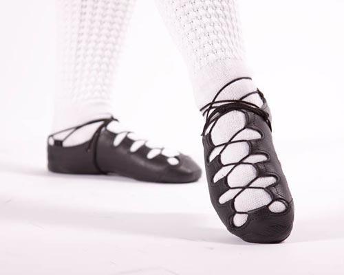 Inishfree Irish Dancing Pomp Pump Soft Shoe Hand Made in Ireland
