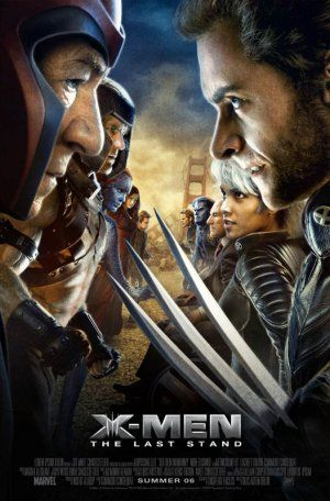 X-Men: The Last Stand (2006). Depressing... too many of my favorite characters were killed off. The final scene between Wolverine and Phoenix was very touching. I still watch it. :(