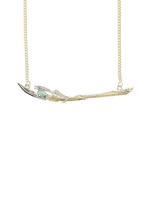 Marvel Avengers Loki Scepter Necklace,