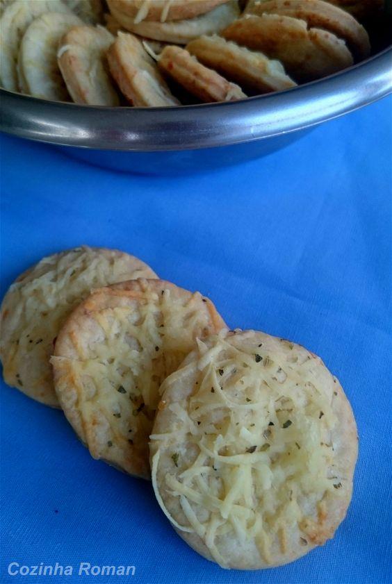 biscoito de queijo cozinharoman