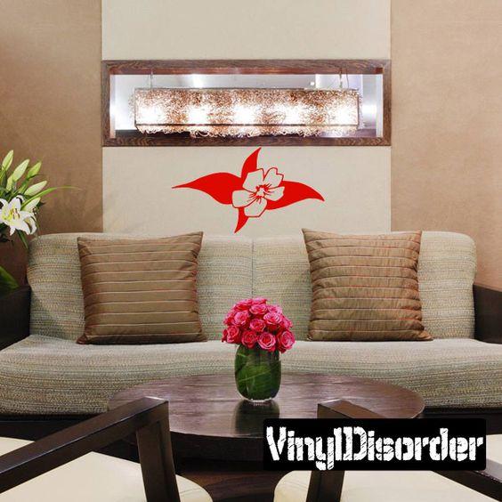 Flower Wall Decal - Vinyl Decal - Car Decal - CF12097