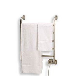"Warmrails Regent Style Towel Warmer - Satin Nickel - HSRS (Satin Nickel) (18 5/8"" w x 5 1/4"" d x 25 1/4"" h)"