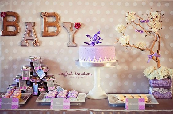 Baby Shower Decor Canada ~ Canadian hostess love and lavender baby shower
