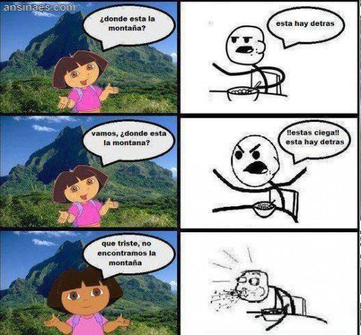 Donde Esta La Montana Dora Memes Funny Memes Memes