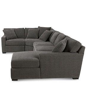 Radley 4-Piece Fabric Modular Sectional Sofa - Furniture - Macy's