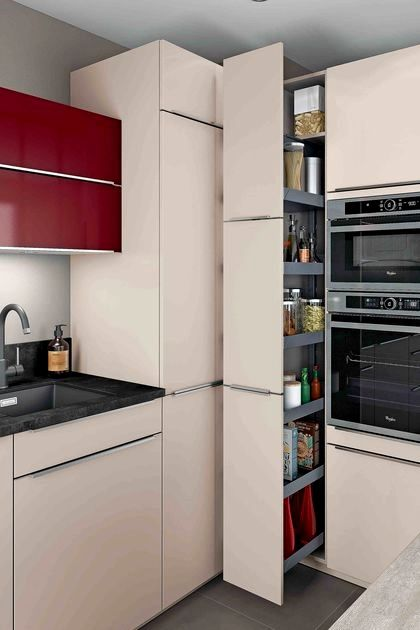 Colonne Coulissante Cuisine Ikea Trick Meuble Cuisine Rangement Cuisine Armoire De Cuisine