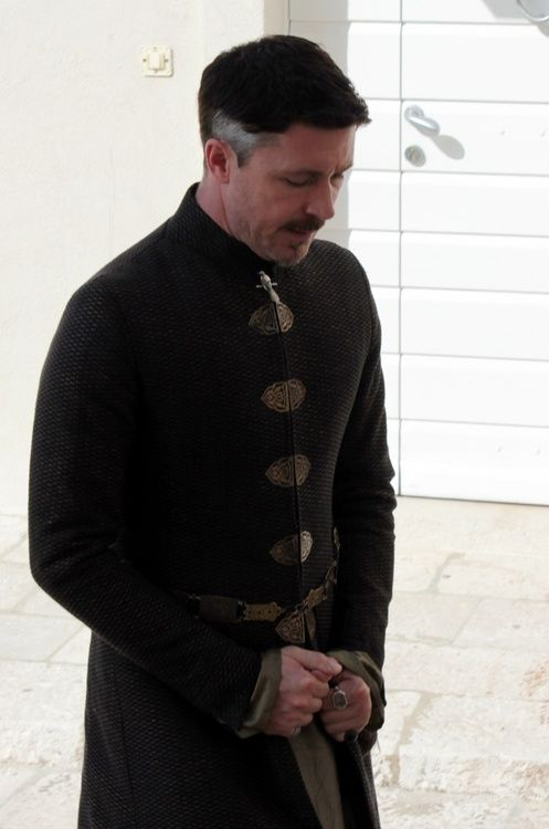 Aidan Gillen as Littlefinger, Game of Thrones, filming for season 3, Dubrovnik, 27 September 2012.
