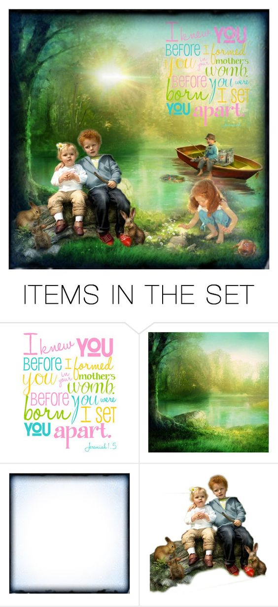 """You are set apart"" by jennifer-walters ❤ liked on Polyvore featuring art"