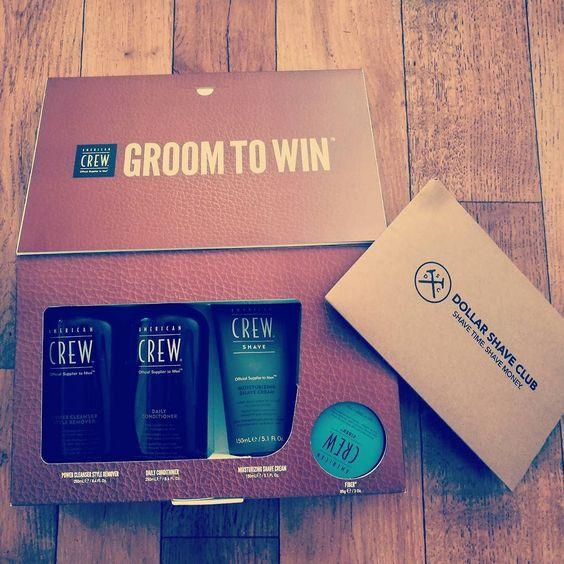 Let's get grooming! The combo @americancrew and @dollarshaveclub #grooming #gentleman ? :)