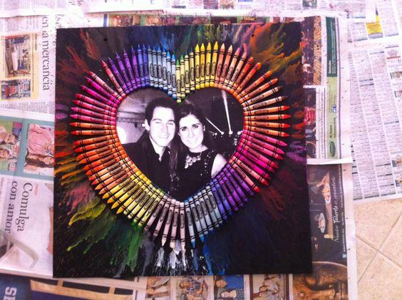 Handmade Gifts Boyfriend Crayola Diy Pinterest
