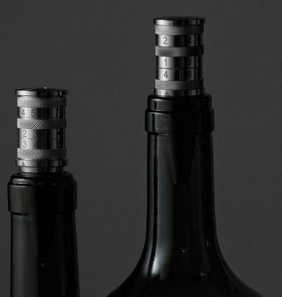 A Date with Wine solves the eternal problem of guessing if your wine is still good, (or when you had your last dinner party) . A wine stopper with adjustable month and day display easily reminds you of when you last opened that bottle. $59