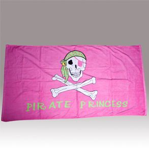 Can we get Pirate Princess Pink Beach Towels and boy ones also for the beach towels?
