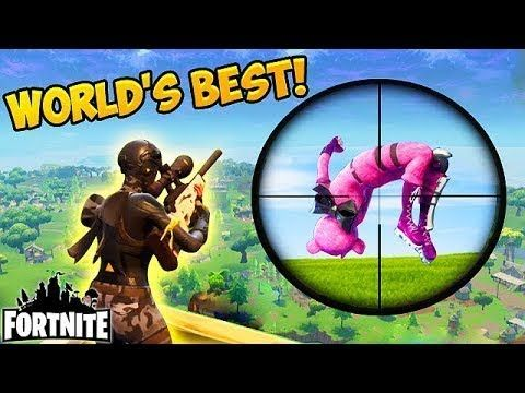 You Will Never See A Better Sniper Kill Fortnite Funny Fails And