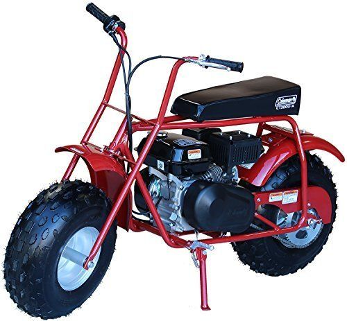 Coleman Powersports 196cc 6 5hp Ct200u Gas Powered Mini Trail Bike
