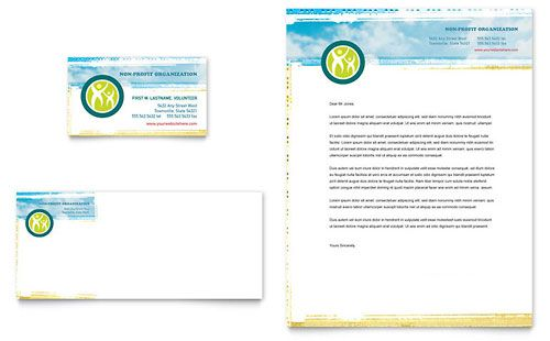 Special Education Business Card \ Letterhead Template Download - free letterhead templates microsoft word