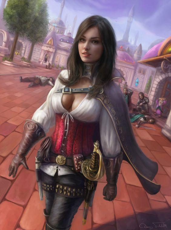 The mystic world of Terallynn — darkbeautyss:   Ienera in Dalaran by Jorsch
