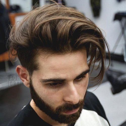 Short Tapered Sides Longer Tousled Top Toplonghairstyles Mens Long Hair Undercut Mens Hairstyles Undercut Medium Length Hair Styles